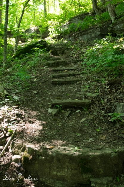 Steep Part of Trail
