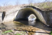 Pelly trail culvert under US68
