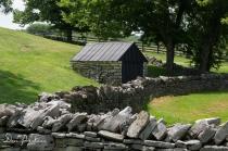 Shaker Village West Lot Stone Fences