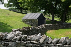 Shaker Village West Lot Stone Fences